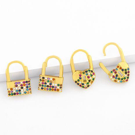 vente chaude de nouvelles boucles d'oreilles en forme de coeur NHAS275596's discount tags