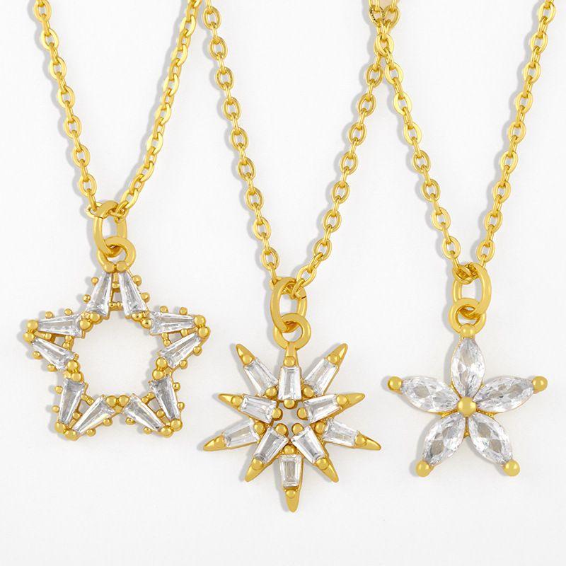 Flower necklace  NHAS275600