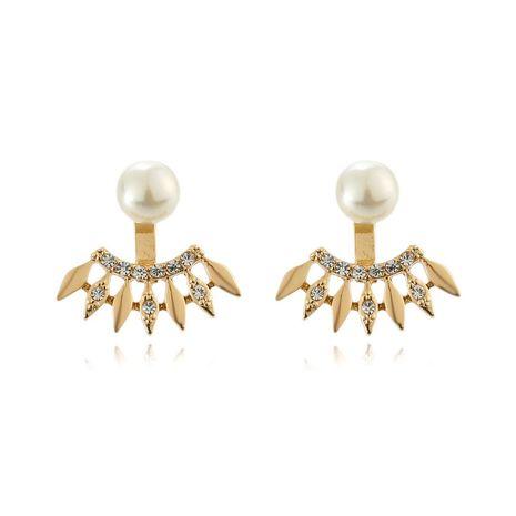 nouvelles boucles d'oreilles en perles de diamant à la mode NHOA275693's discount tags