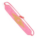 Miyuki Rice Beads Weaving Demon Eyes Handmade Bohemian Ethnic Style Bracelet NHGW275767