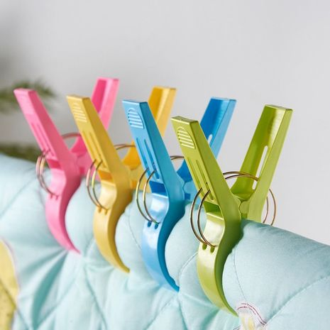 Quilts blankets clothes drying and windproof clips set NHNU275835's discount tags