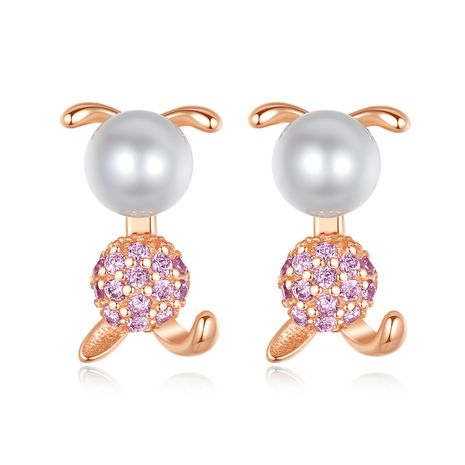 925 sterling silver freshwater pearl earrings NHLE275344's discount tags