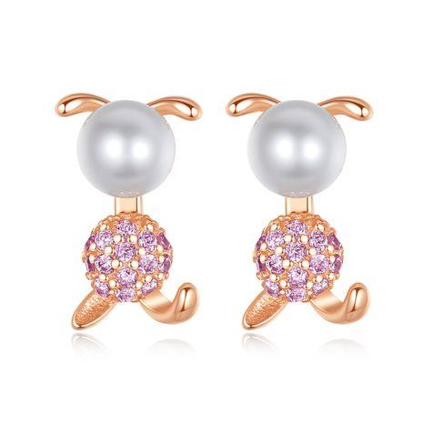 Pendientes de perlas de agua dulce de plata de ley 925 NHLE275344's discount tags