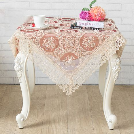 60*60cm bedside cabinet refrigerator dustproof lace cover NHNU275844's discount tags