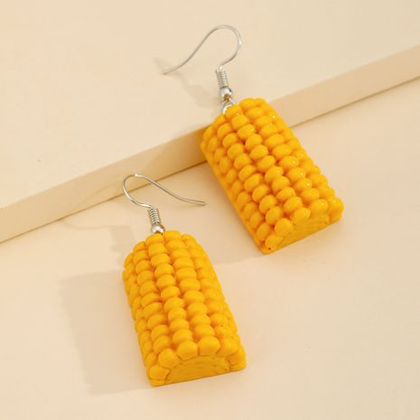 funny corn  food pendant earrings  NHGO275781's discount tags