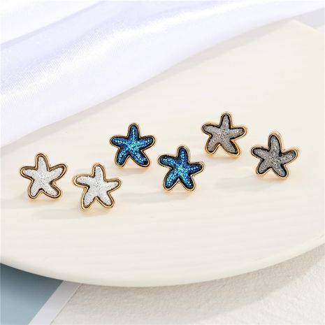 simple  Small starfish earrings  NHGO275790's discount tags