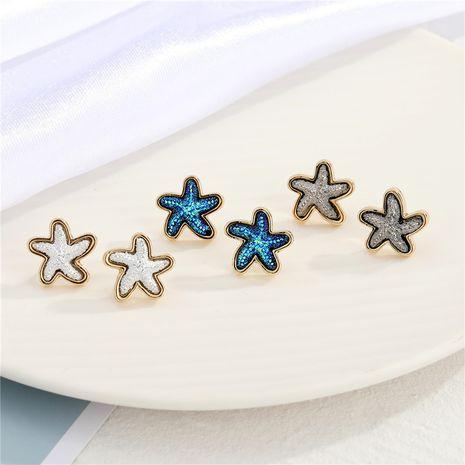 simples aretes pequeños de estrella de mar NHGO275790's discount tags