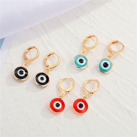 fashion  Devil's eye   earrings NHGO275792's discount tags