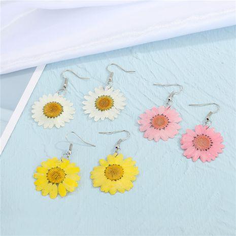 Korea dried flower  earrings  NHGO275795's discount tags