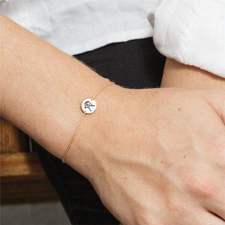Bracelet plaqué or en acier inoxydable 316L NHTF275243's discount tags