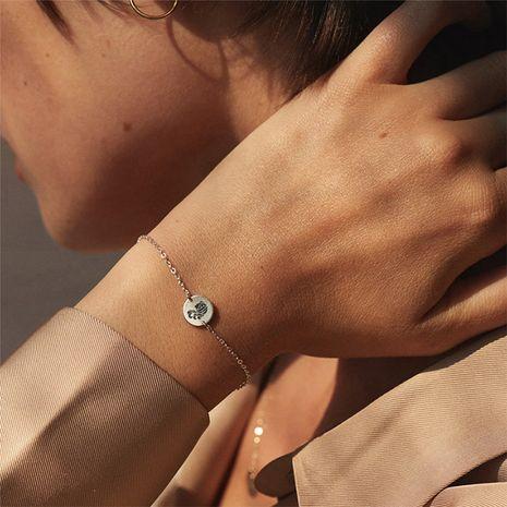 bracelet de constellation en acier inoxydable 316L NHTF275236's discount tags