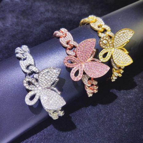 Vente chaude mode simple nouveau bracelet papillon NHQC264708's discount tags
