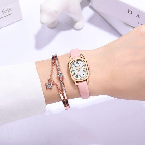 Reloj de cuarzo ovalado de escala romana de moda coreana NHSS275853's discount tags