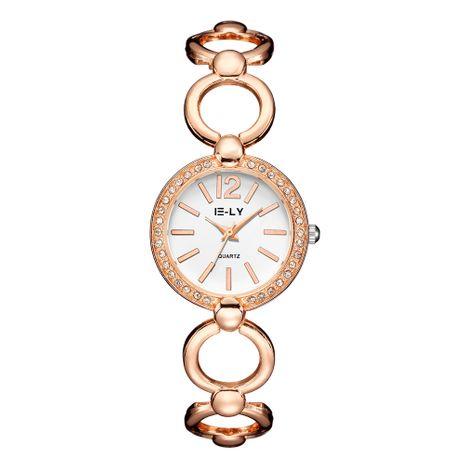 Reloj de pulsera de aleación de cuarzo con correa de moda NHSS275856's discount tags