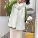 Little daisy cute wool scarf  NHCM275874