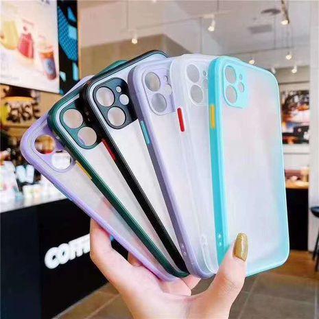 Geeignet für Apple 12 Huawei Oppo vivo Straight Edge Kontrast Handyhüllen NHKI275946's discount tags