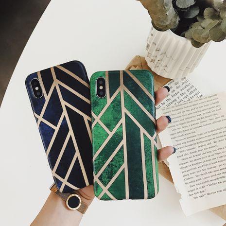 Handyhülle mit geometrischer Linie im koreanischen Stil für iphone8plus / se2 Apple 12Promax NHFI275954's discount tags