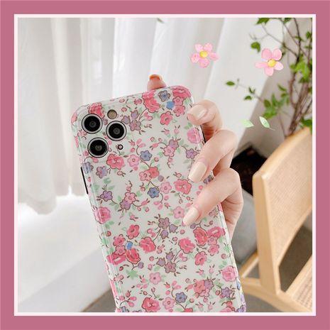 Koreanische kleine florale Handyhülle Silikon Softcover für Apple 7plus XR / SE2 iPhone11 / Promax NHFI275958's discount tags