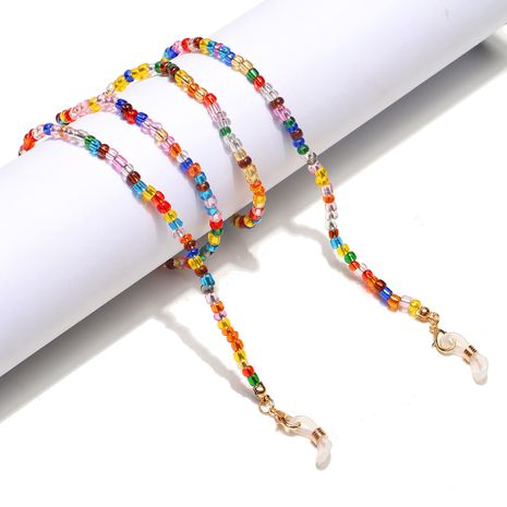 Hochwertige Mode gemischte Farbe Reisperlen Glaskette NHBC276012's discount tags