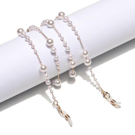 Mode einfache Farbverlauf Perle Glaskette NHBC276023's discount tags