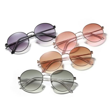 big frame round fashion lens sunglasses NHXU276035's discount tags