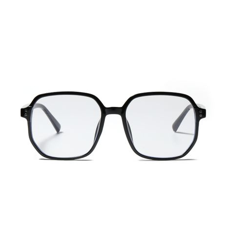 polygon fashion retro anti-blue light flat lens glasses NHXU276040's discount tags
