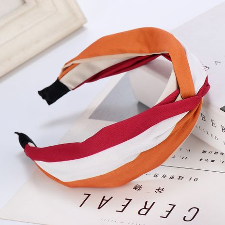 color stitching headband NHHV276056's discount tags