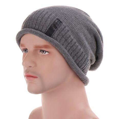Bonnet en laine pour homme NHHV276057's discount tags