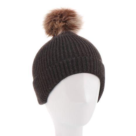 chapeaux en laine pour enfants automne et hiver NHHV276060's discount tags