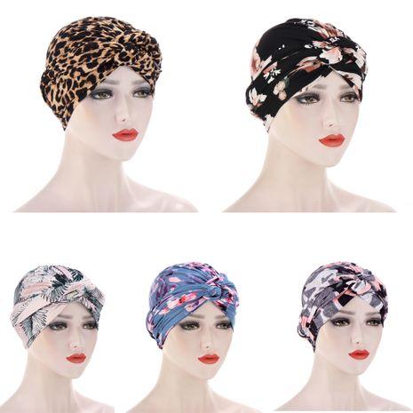 Chapeau en tissu à fleurs pour femme NHHV276061's discount tags