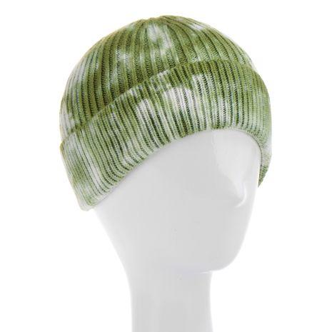 bonnet tie-dye tricoté automne et hiver NHHV276062's discount tags