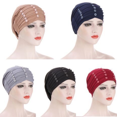 flowers turban caps NHHV276063's discount tags