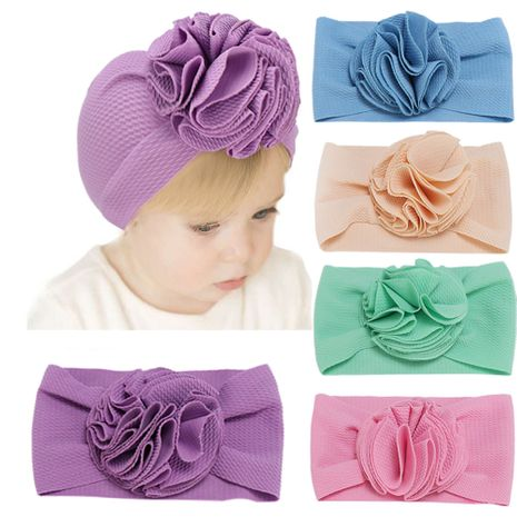 Simple Pure Color Ball Flower Children's Hair Band  NHHV276065's discount tags