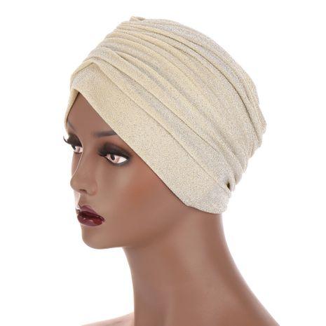 chapeau indien plissé en soie NHHV276069's discount tags
