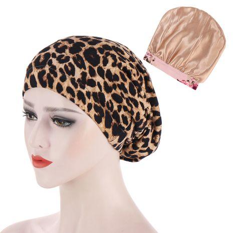 impression petite casquette en satin NHHV276073's discount tags