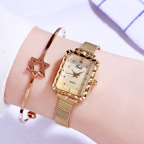 fashion belt square quartz watch NHSR276087's discount tags