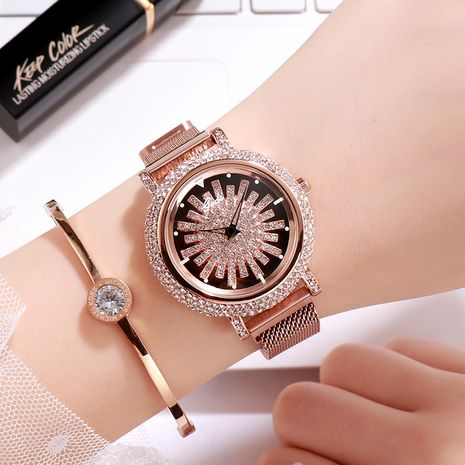 full diamond dial fashion watch NHSR276092's discount tags