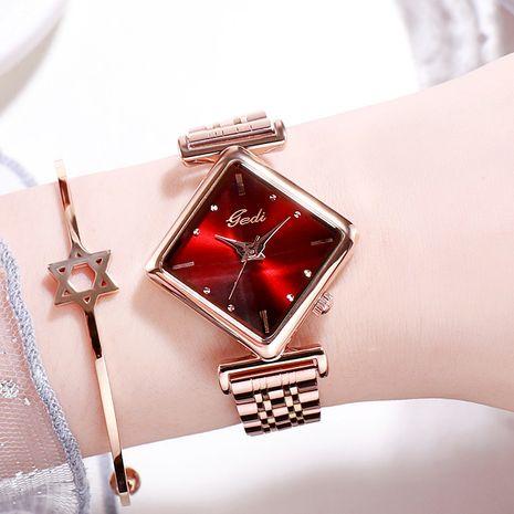 reloj de cuarzo con esfera de diamantes de moda NHSR276097's discount tags