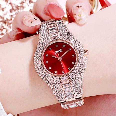 diamond-studded steel belt waterproof watch NHSR276099's discount tags