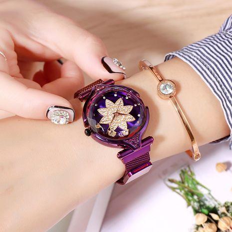 reloj impermeable de diamantes NHSR276102's discount tags