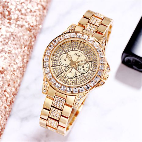 steel belt diamond watch NHSR276117's discount tags