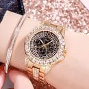steel belt diamond watch NHSR276117