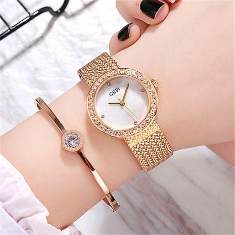diamond alloy marble quartz fashion watch  NHSR276121's discount tags