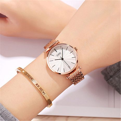 simple steel belt fashion watches NHSR276129's discount tags