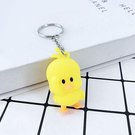 porte-clés en caoutchouc souple canard jaune NHAP276164's discount tags