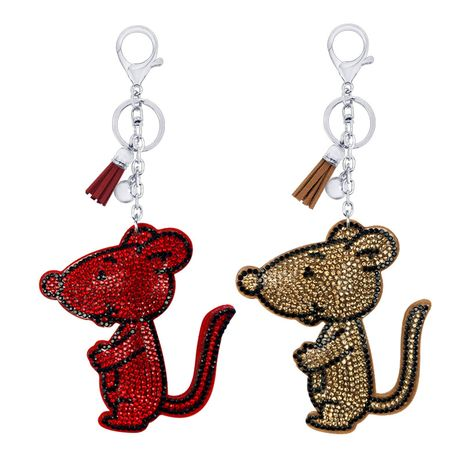 cute cartoon mouse keychain NHAP276169's discount tags