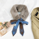 Korean cute rabbit fur scarf NHMN276192