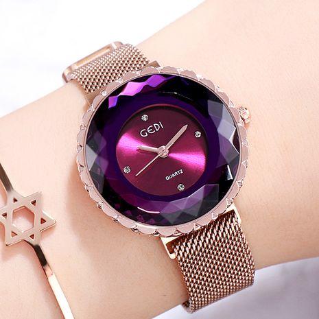 Fashion diamond magnet watch NHSR276204's discount tags