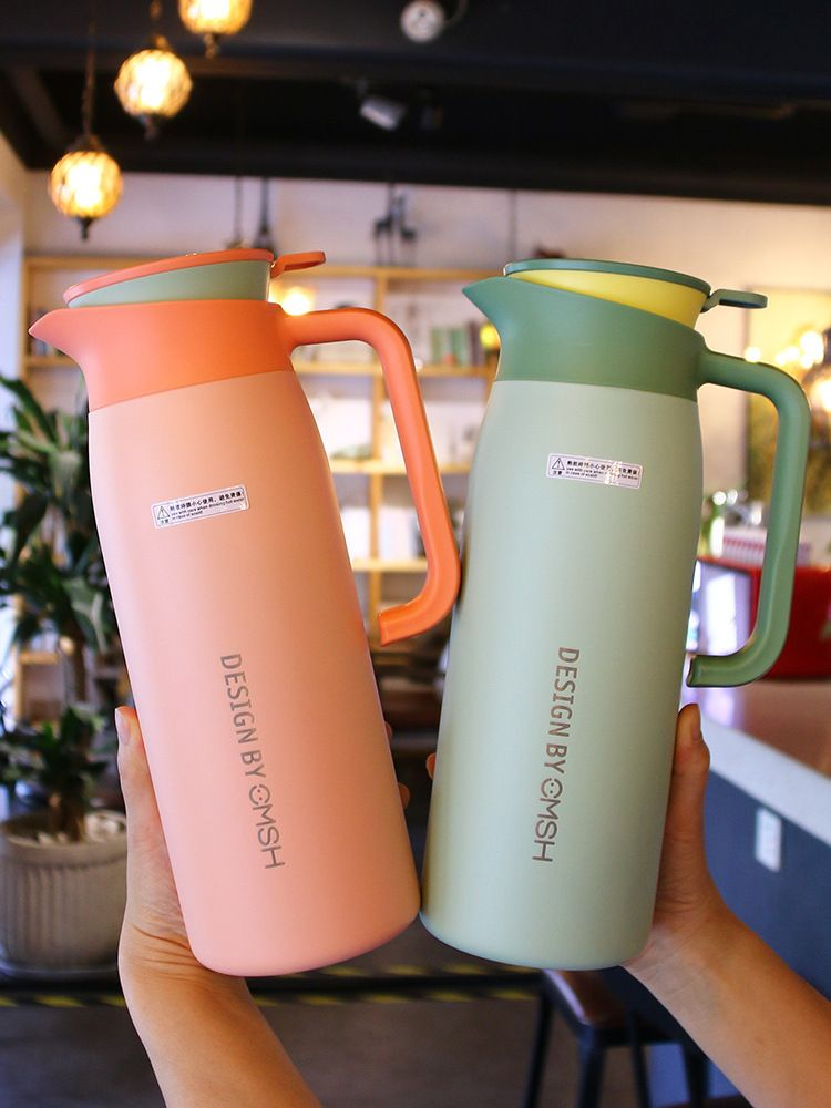 Stainless steel large-capacity household water bottle NHtn276232