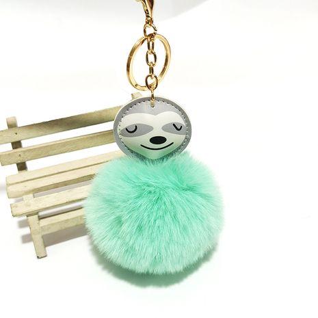 PU Cartoon Sloth Hair Ball Keychain  NHDI275816's discount tags